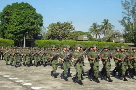 EnlaceVeracruz212 :. Llega a Minatitlán el 45/o. Batallón ...