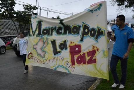 Resultado de imagen para Realiza Consejo de Pastores Amigos en el Ministerio en Orizaba la marcha por la Paz